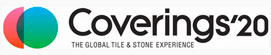 Coverings Tradeshow Logo 2020 | Naples Shower Repair and Remodeling