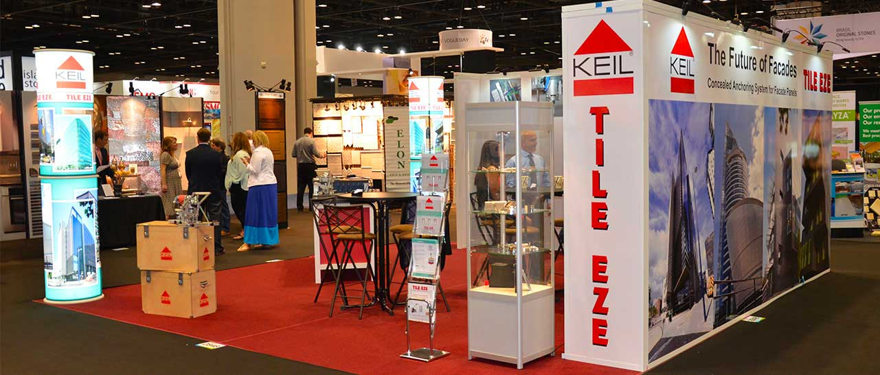 Naples Shower Repair and Remodeling & Tile Eze Tradeshow Booth